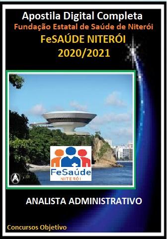 ANALISTA ADMINISTRATIVO Fundação Estatal de Saúde de Niterói - 2020