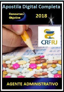 Apostila CRF RJ 2018 - AGENTE ADMINISTRATIVO