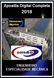 Apostila EMAE SP 2018 - ENGENHEIRO – ESPECIALIDADE MECÂNICA