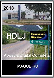 Apostila Hospital Desembargador Leal Junior Itaboraí 2018 - MAQUEIRO