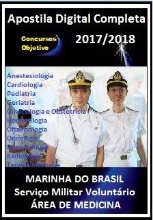 Apostila Marinha (SMV) Temporário 2018/2019 - ÁREA DE MEDICINA (Toda a Bibliografia Sugerida).