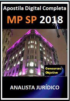 Apostila MP - SP 2018 - Analista Jurídico