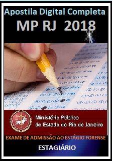 Apostila MPE RJ 2018 Exame de Admissão ao Estágio Forense