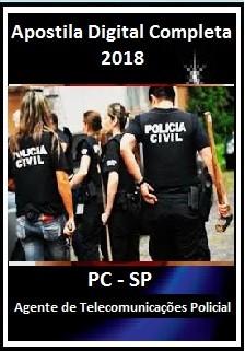 Apostila PC SP 2018 - Agente de Telecomunicações Policial