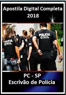 Apostila PC - SP 2018 - Escrivão de Polícia