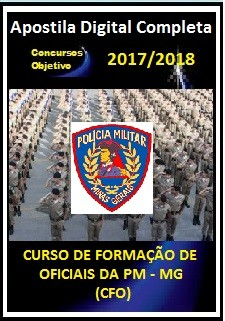 Apostila PM MG 2017 - Curso de Formação de Oficiais 2018