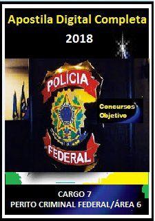 Apostila Polícia Federal 2018 - CARGO 7: PERITO CRIMINAL FEDERAL/ÁREA 6 Química