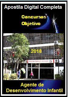 Apostila Prefeitura de Jacareí SP 2018 - AGENTE DE DESENVOLVIMENTO INFANTIL