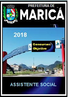 Apostila Prefeitura de Maricá 2018 - ASSISTENTE SOCIAL