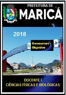 Apostila Prefeitura de Maricá 2018 - DOCENTE I - CIÊNCIAS FÍSICAS E BIOLÓGICAS