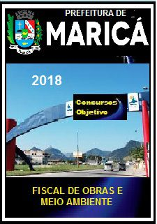 Apostila Prefeitura de Maricá 2018 - FISCAL DE OBRAS E MEIO AMBIENTE