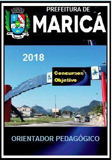 Apostila Prefeitura de Maricá 2018 - ORIENTADOR PEDAGÓGICO