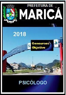 Apostila Prefeitura de Maricá 2018 - PSICÓLOGO