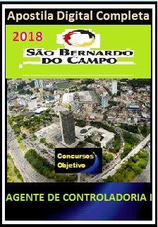 Apostila Prefeitura de S. Bernardo 2018 - AGENTE DE CONTROLADORIA I