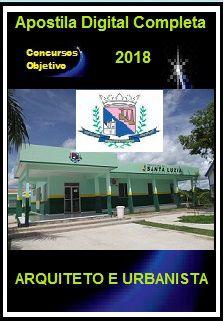 Apostila Prefeitura de Santa Luzia MG 2018 - ARQUITETO E URBANISTA