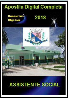 Apostila Prefeitura de Santa Luzia MG 2018 - ASSISTENTE SOCIAL