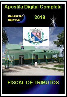 Apostila Prefeitura de Santa Luzia MG 2018 - FISCAL DE TRIBUTOS