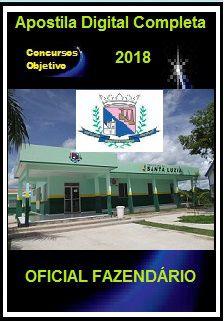 Apostila Prefeitura de Santa Luzia MG 2018 - OFICIAL FAZENDÁRIO