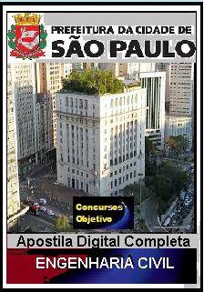 Apostila Prefeitura de São Paulo 2018 - Engenharia Civil