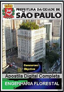 Apostila Prefeitura de São Paulo 2018 - Engenharia Florestal