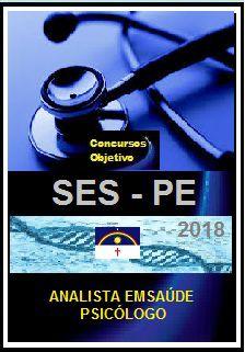 Apostila SES - PE 2018 - ANALISTA EM SAÚDE/PSICÓLOGO