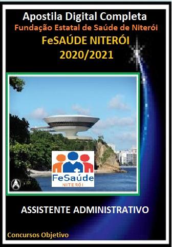 ASSISTENTE ADMINISTRATIVO Fundação Estatal de Saúde de Niterói - 2020