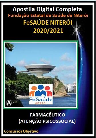 FARMACÊUTICO (ATENÇÃO PSICOSSOCIAL) Fundação Estatal de Saúde de Niterói - 2020