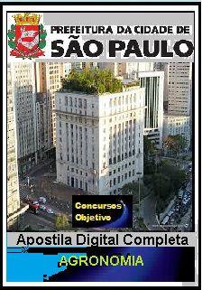 Prefeitura de São Paulo 2018 - Agronomia