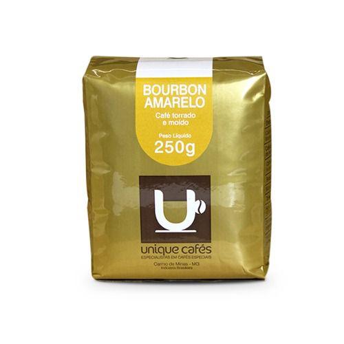 MOÍDO - Café Unique Bourbon Amarelo