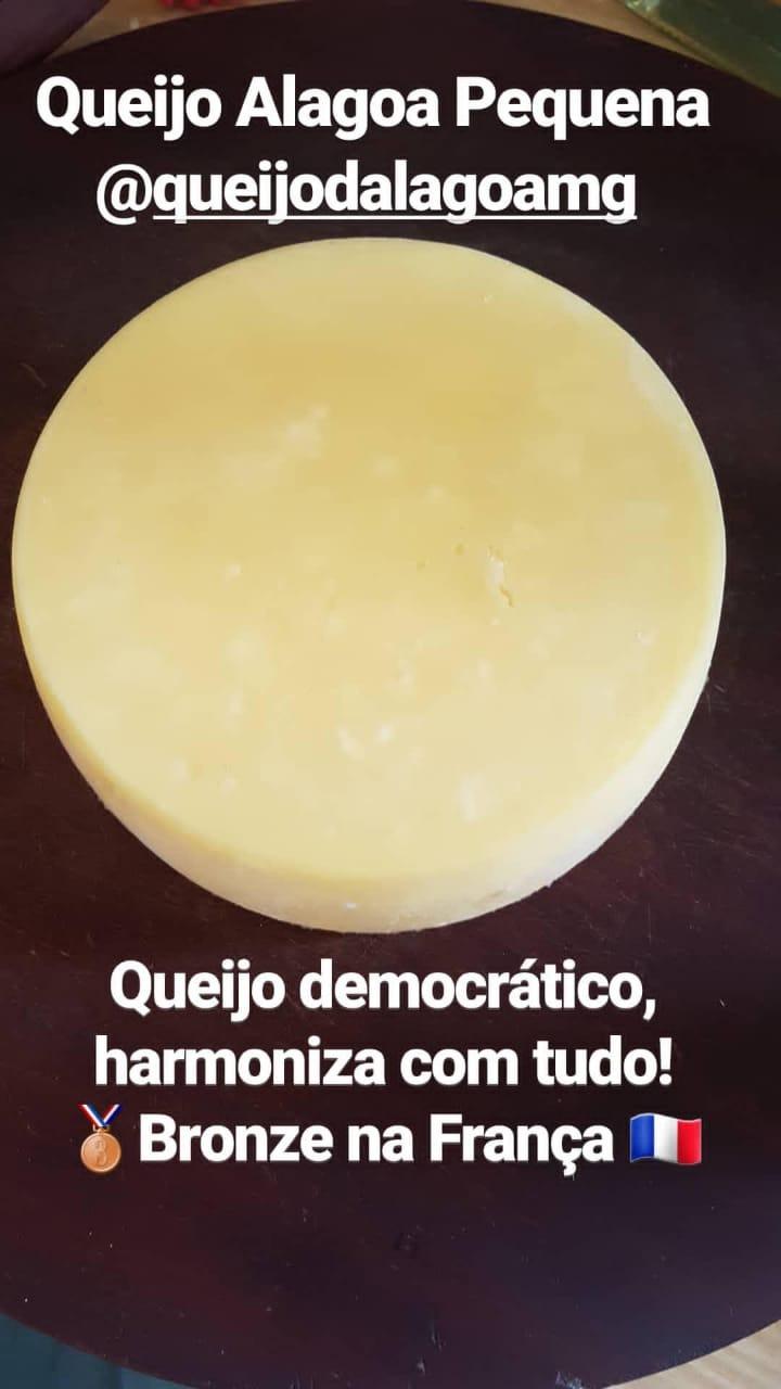 Queijo Artesanal Alagoa - Pequena