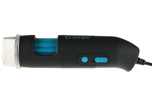 Q-scope USB 9mp com polarização