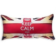 ALMOFADA 20 X 40 KEEP CALM AND CARRY ON