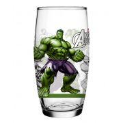 Copo Vidro Hulk – Coleção -Avengers Marvel