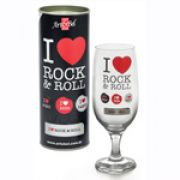 TACA FLORIPA I LOVE ROCK & ROLL + TUBETE