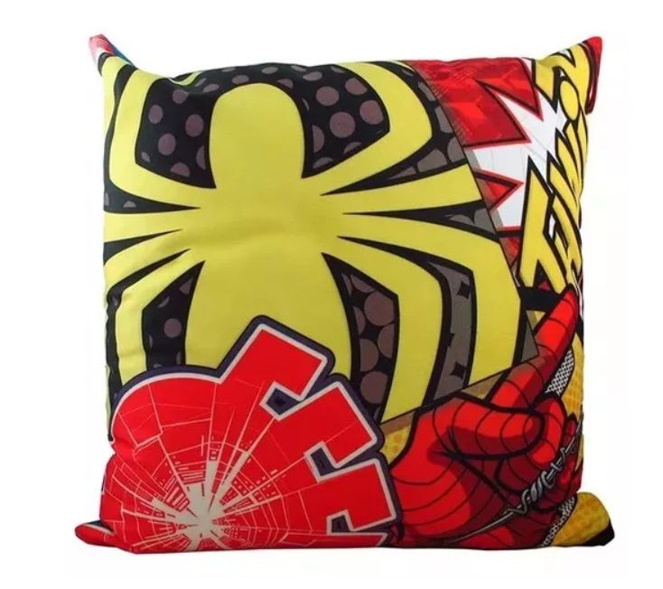 Almofada Veludo 40x40 Cm Spider Man Toons
