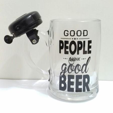 Caneca Campainha Cerveja Boa