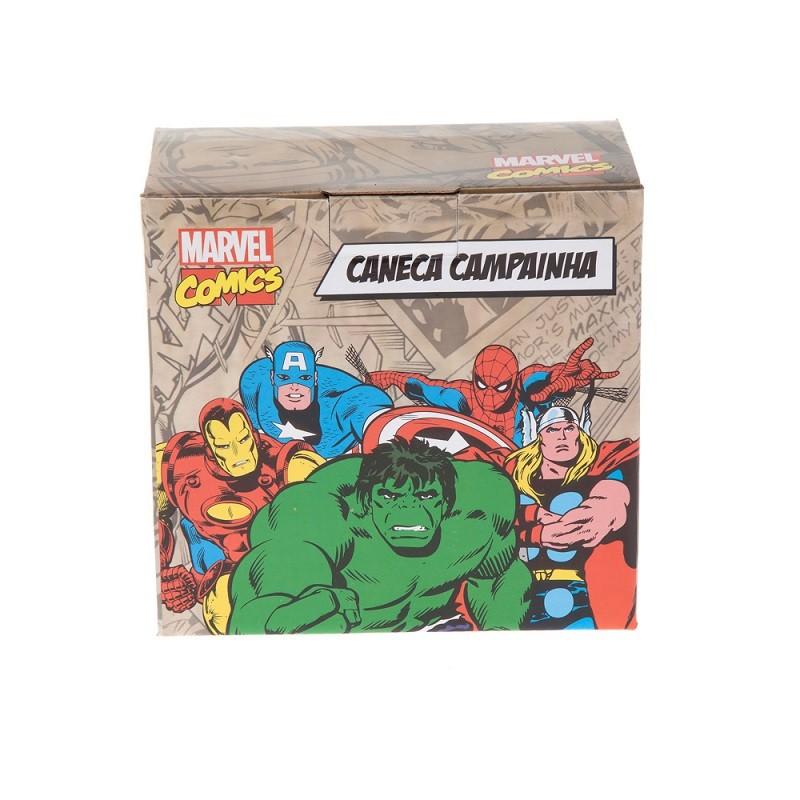 CANECA COM CAMPAINHA HOMEM ARANHA