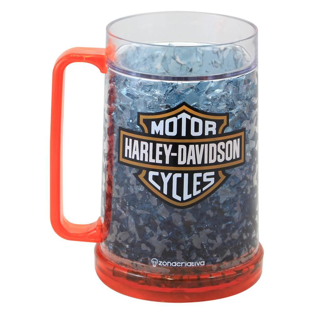 Caneca de chopp gelo harley davidson