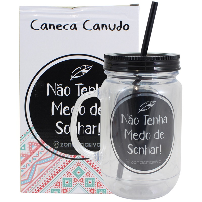 CANECA POTE NÃO TENHA MEDO DE SONHAR