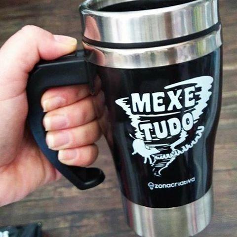 CANECA TWISTER - MEXE TUDO