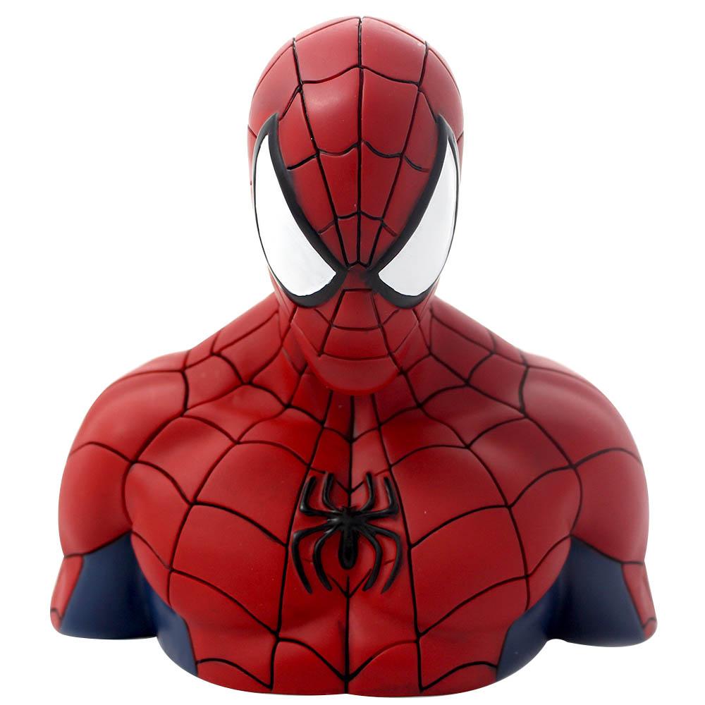 COFRE BUSTO SPIDER MAN
