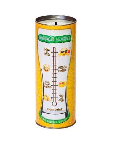 Copo Joinville 680 ml Graduação Alcoólica + Tubete