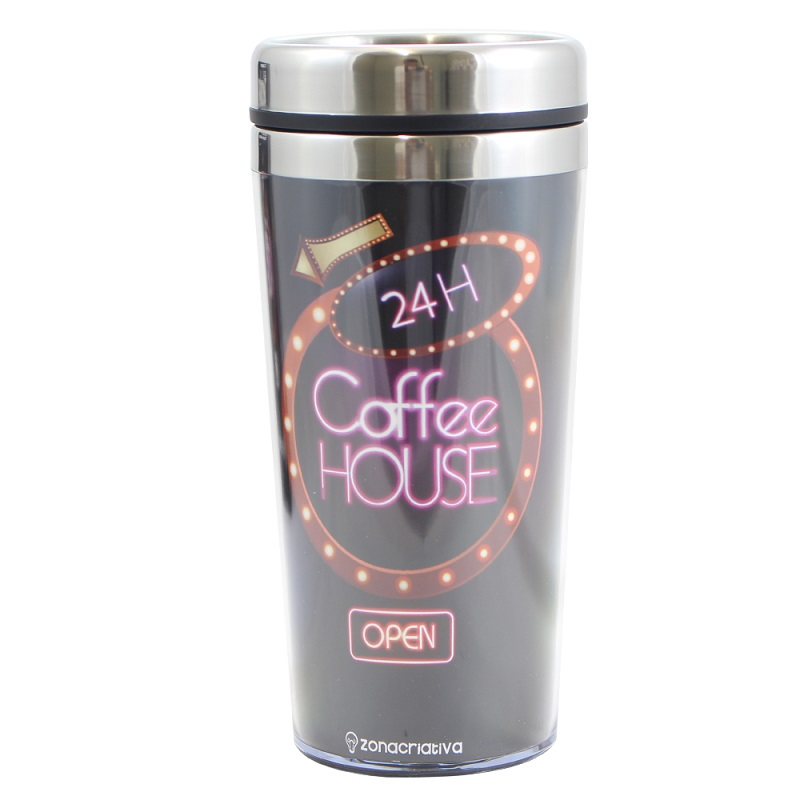 COPO TÉRMICO COFFEE HOUSE