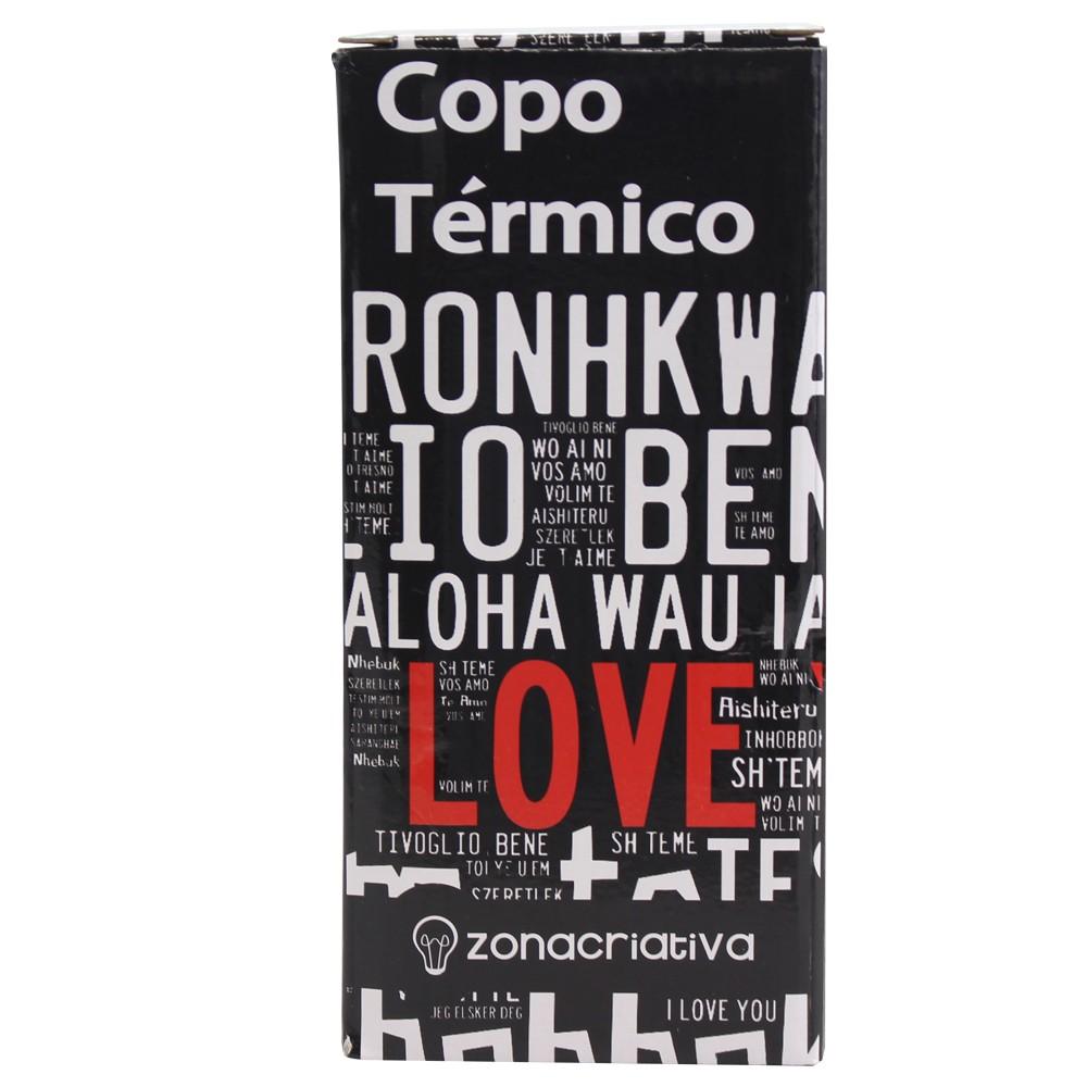 COPO TÉRMICO LOVE YOU IDIOMAS