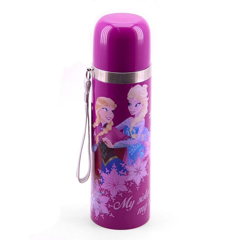 Garrafa Térmica Anna & Elsa 500ml Frozen - Disney