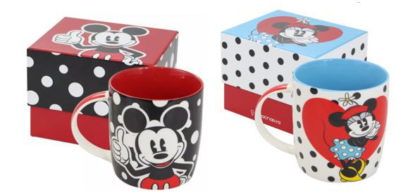 KIT - CANECA MICKEY E MINNIE