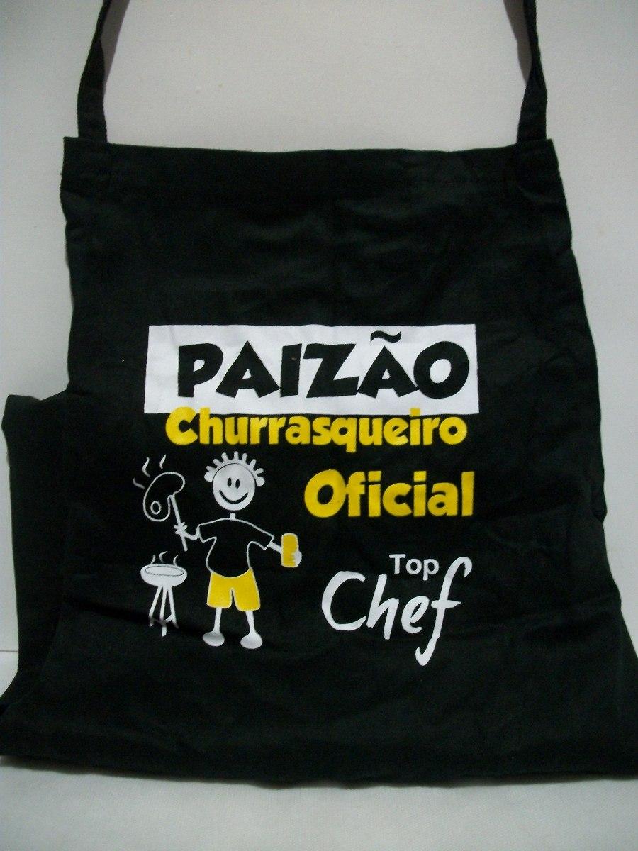 Kit Churrasqueiro Paisão Churrasqueiro + Caixa Presente