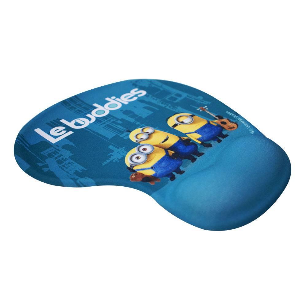 Mouse Pad Le Buddies Com Apoio Em Gel - Minions   Meu Malvado Favorito