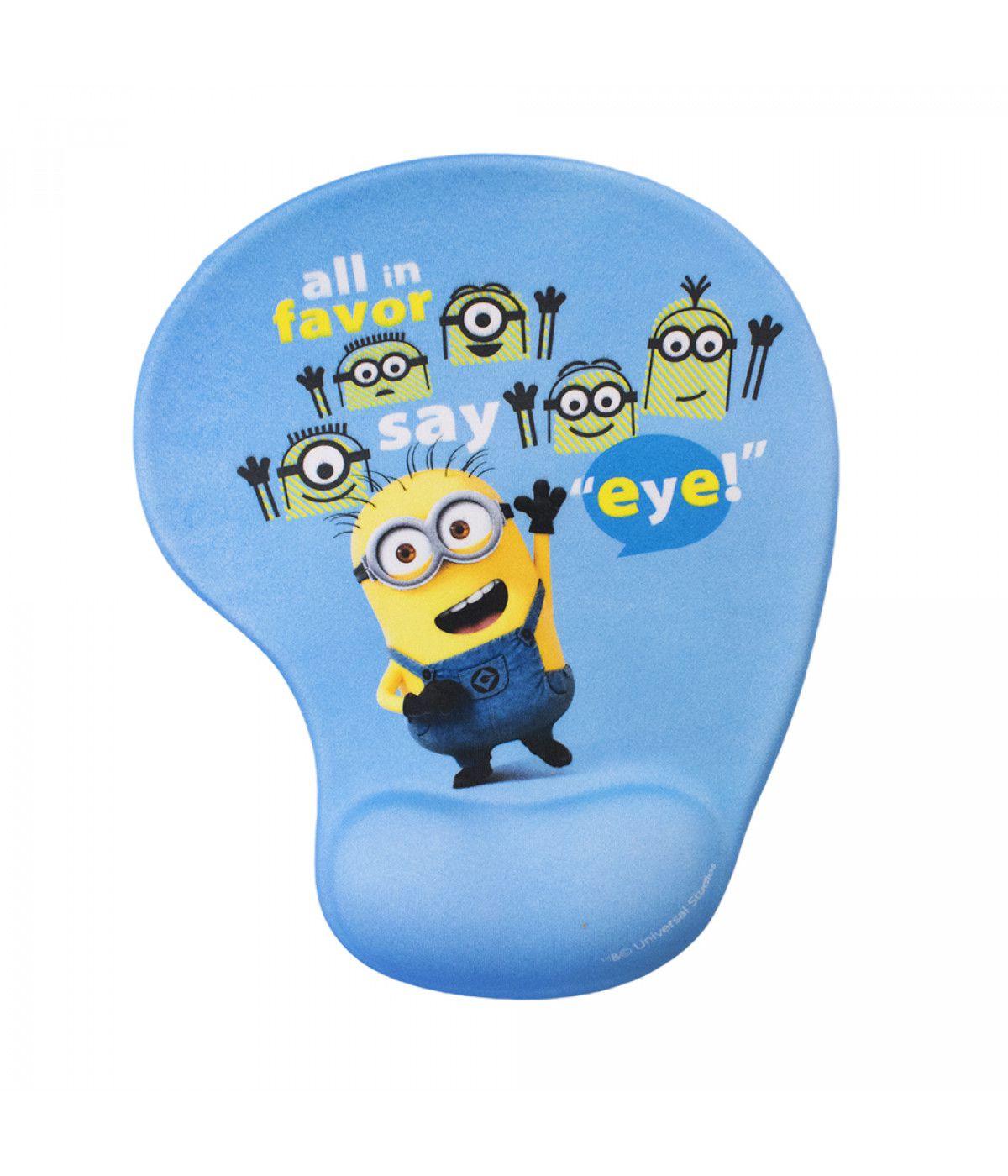 Mouse Pad Say Eye Com Apoio Em Gel - Minions | Meu Malvado Favorito