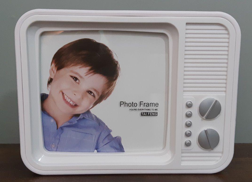 Porta Retrato Tv 13,8 X 3,0 X 18,0 Cm
